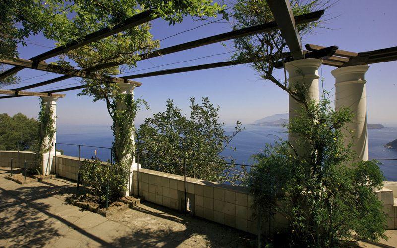 villa Monte San Michele Capri