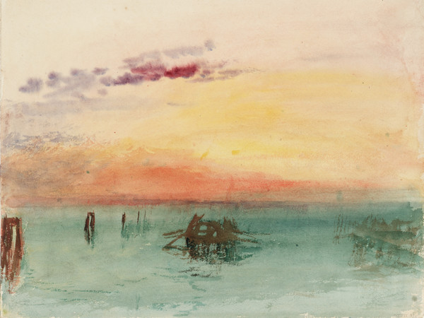 TURNER A ROMA77519-J_M_W_Turner_venice-looking-across-the-lagoon-at-sunset-1840