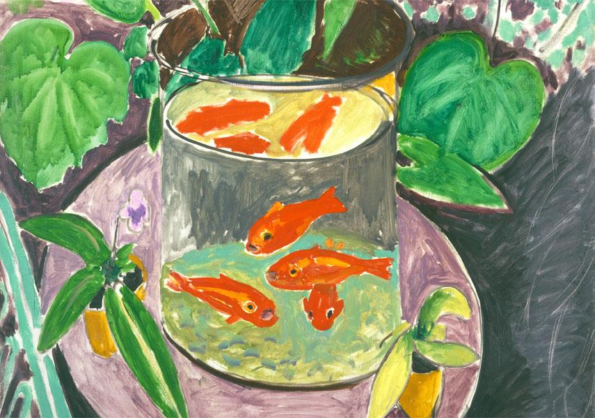 Pesci-rossi-Goldfish-Matisse-detail-dettaglio