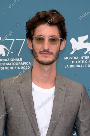 Mandatory Credit: Photo by Alberto Terenghi/IP/Shutterstock (10764835e) Pierre Niney 'Lovers' photocall, 77th Venice International Film Festival, Italy - 03 Sep 2020
